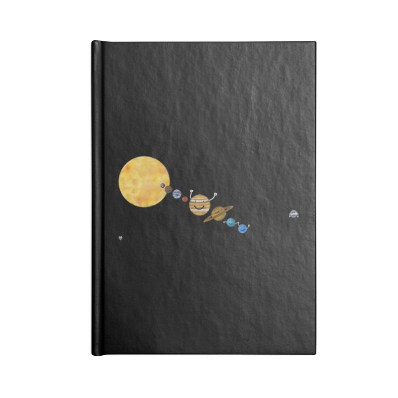 Pluto Accessories Lined Journal Notebook by Sin Remite Artist Shop