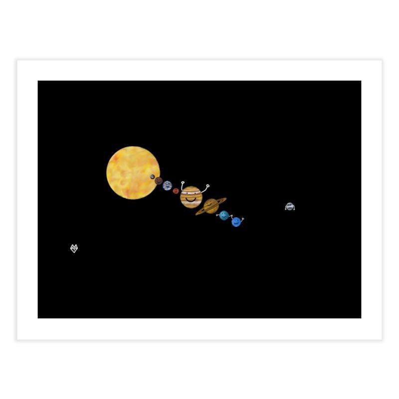 Pluto Home Fine Art Print by Sin Remite Artist Shop