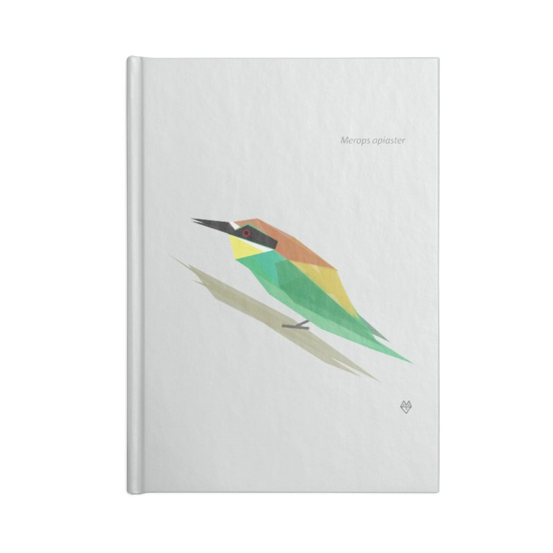 bee-eater Accessories Lined Journal Notebook by Sin Remite Artist Shop