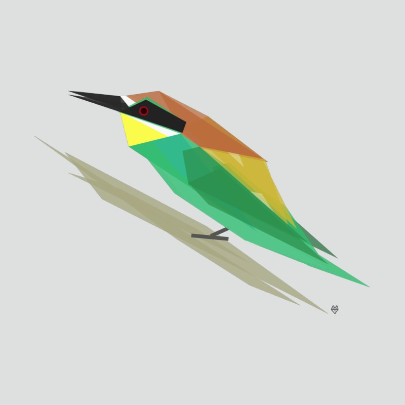 bee-eater None  by Sin Remite Artist Shop
