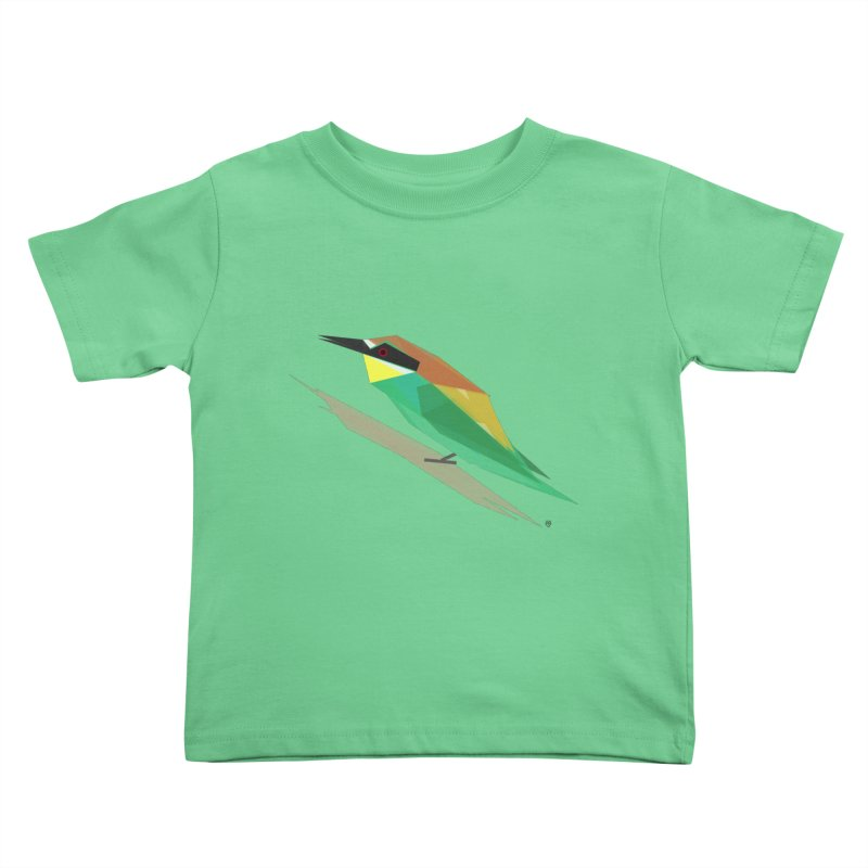 bee-eater Kids Toddler T-Shirt by Sin Remite Artist Shop