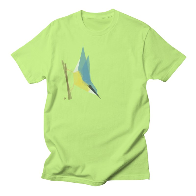 Nuthatch Men's Regular T-Shirt by Sin Remite Artist Shop