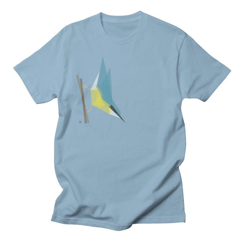 Nuthatch Men's Regular T-Shirt by Sin Remite Artist Shop
