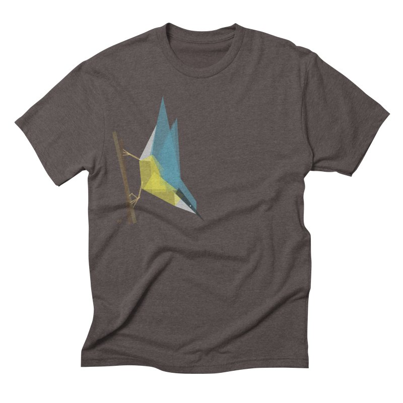 Nuthatch Men's Triblend T-shirt by Sin Remite Artist Shop