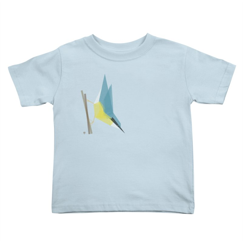 Nuthatch Kids Toddler T-Shirt by Sin Remite Artist Shop