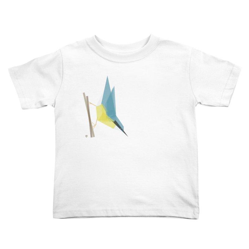 Nuthatch Kids Toddler T-Shirt by Sin Remite Artist Shop