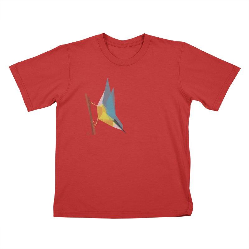 Nuthatch Kids T-shirt by Sin Remite Artist Shop