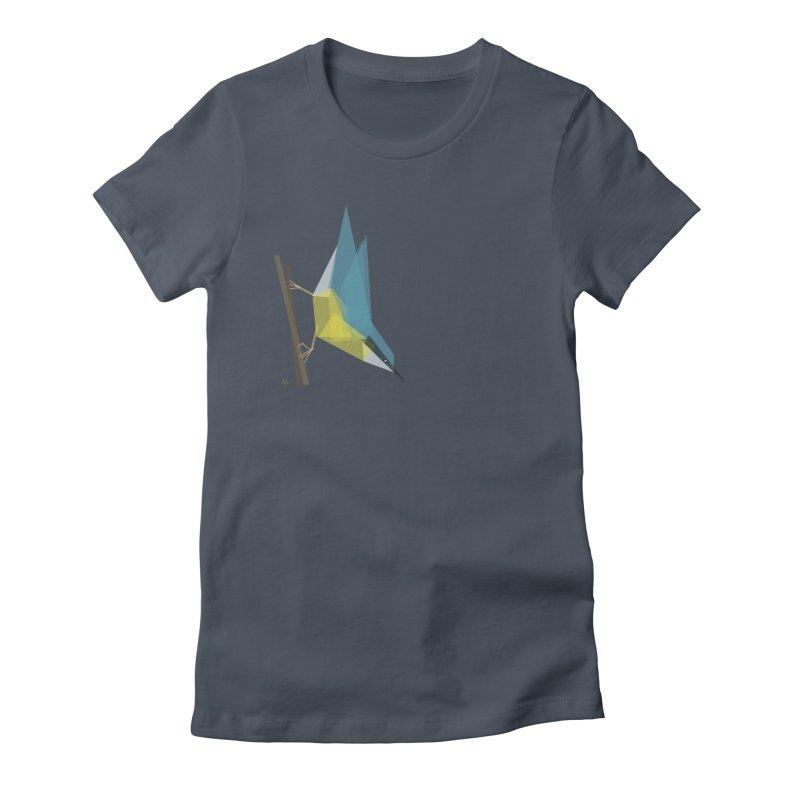 Nuthatch Women's T-Shirt by Sin Remite Artist Shop