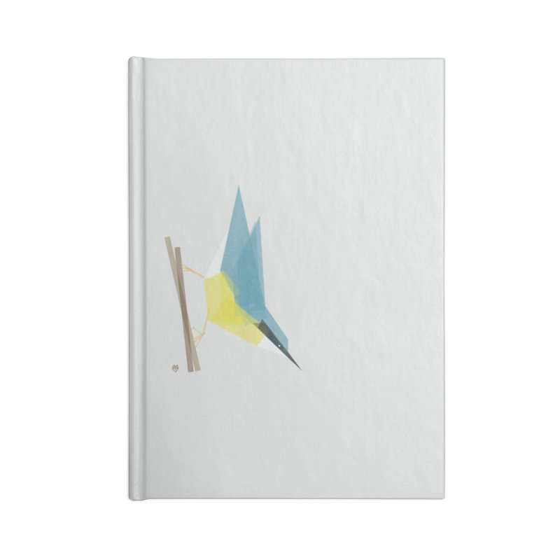 Nuthatch Accessories Blank Journal Notebook by Sin Remite Artist Shop
