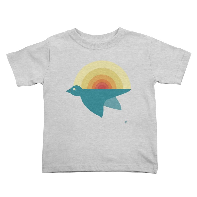 Pájaro Sunrise Kids Toddler T-Shirt by Sin Remite Artist Shop