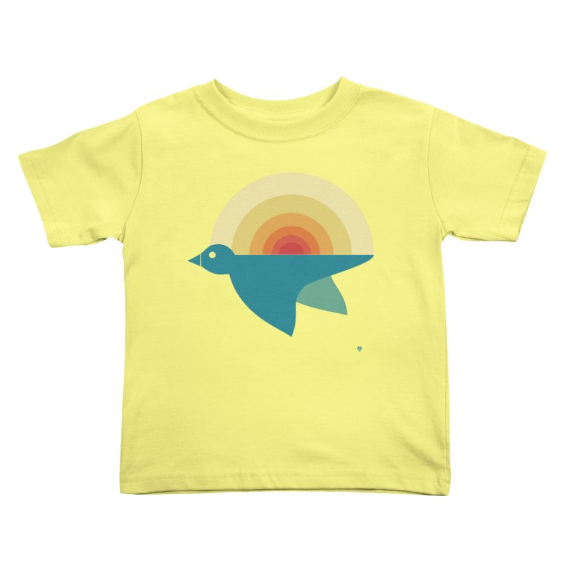 Pájaro Sunrise Kids Toddler T-Shirt by Sin Remite Artist Shop