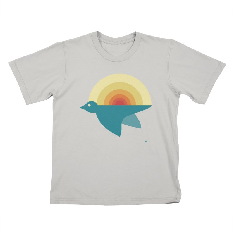 Pájaro Sunrise Kids T-Shirt by Sin Remite Artist Shop