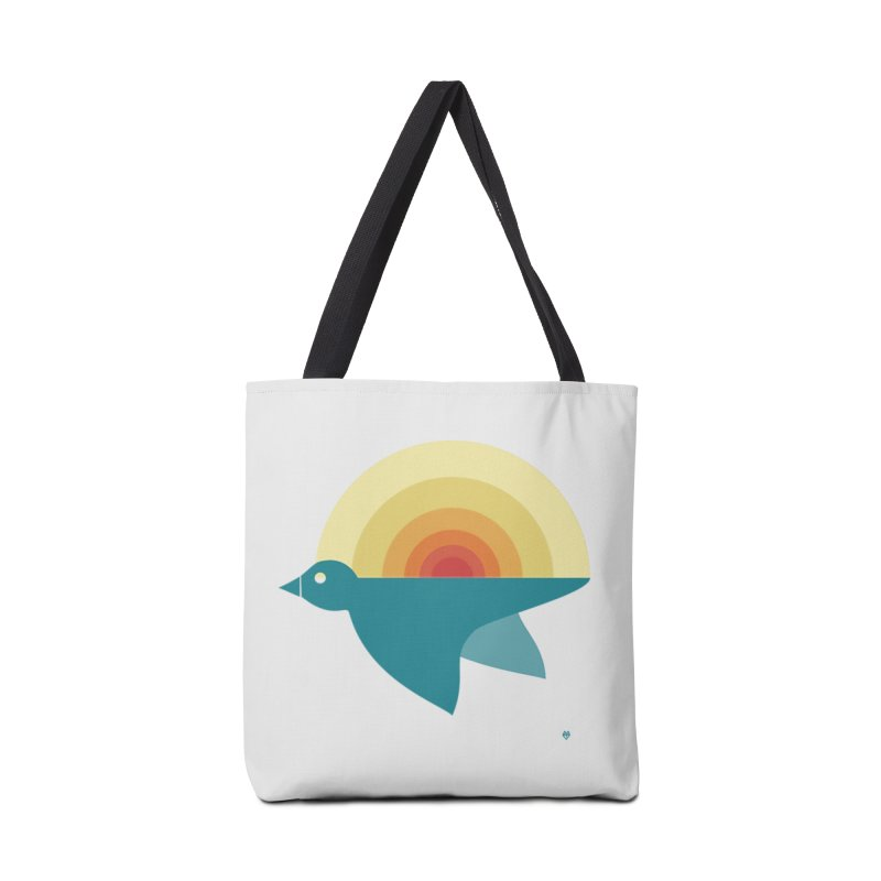 Pájaro Sunrise Accessories Bag by Sin Remite Artist Shop