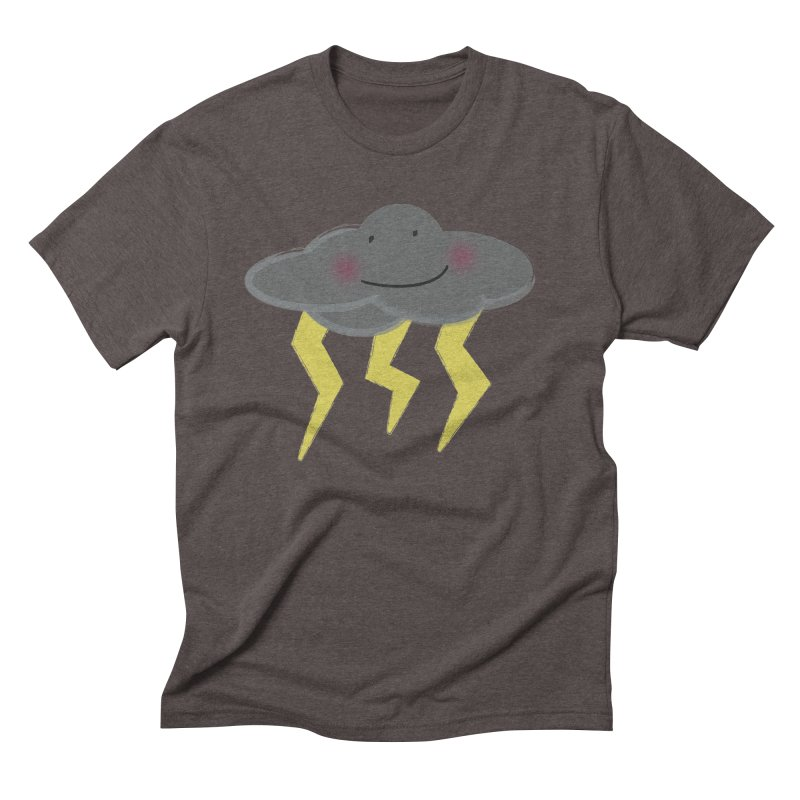 Storm Men's Triblend T-Shirt by Sin Remite Artist Shop