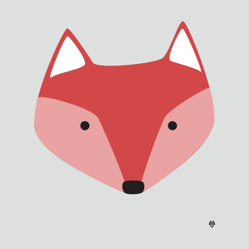 Fox None  by Sin Remite Artist Shop