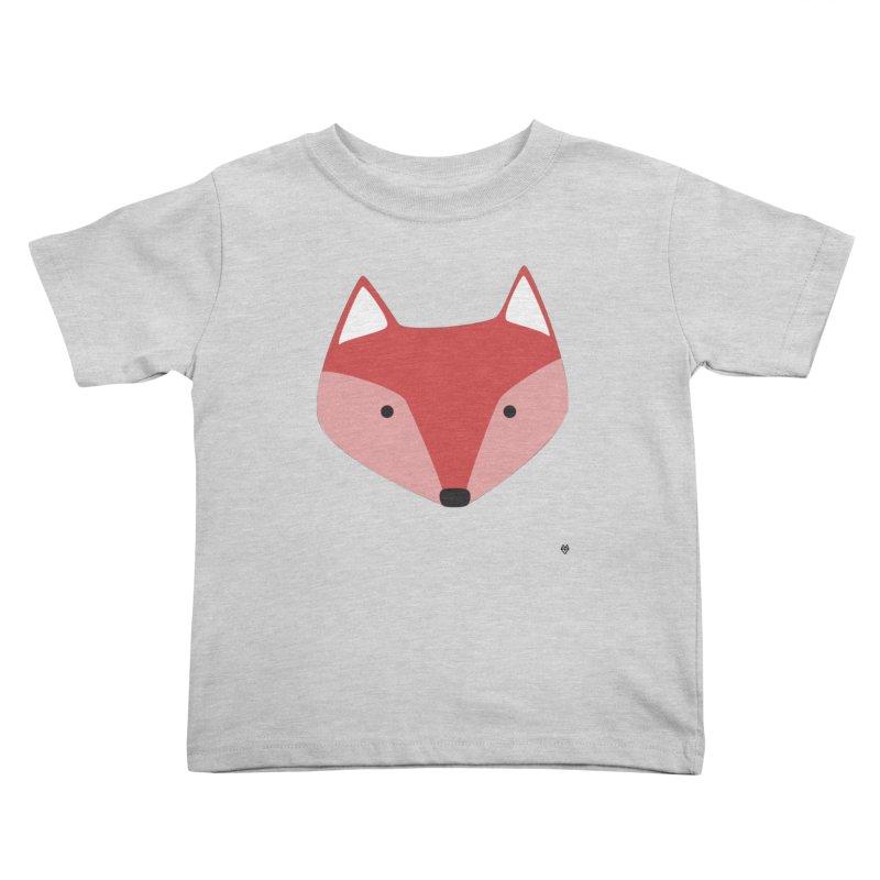 Fox Kids Toddler T-Shirt by Sin Remite Artist Shop
