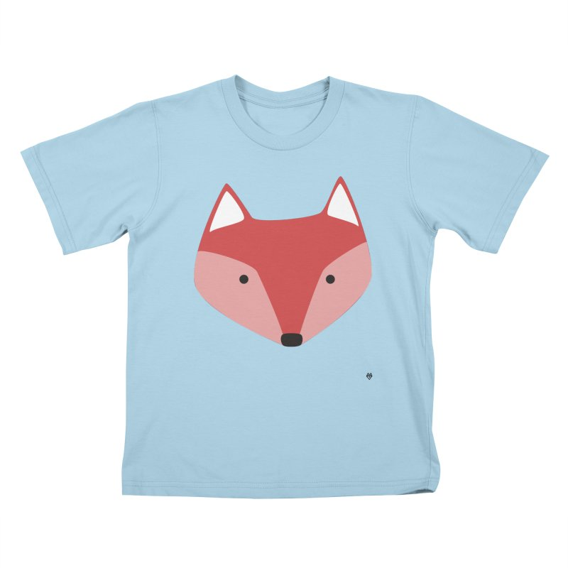 Fox Kids T-Shirt by Sin Remite Artist Shop