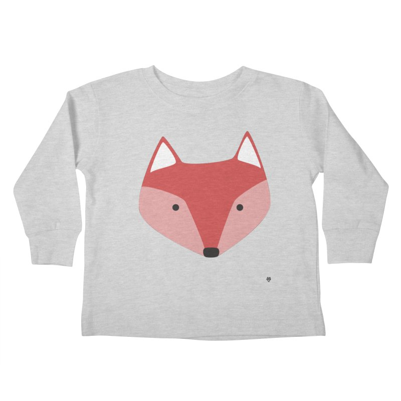 Fox Kids Toddler Longsleeve T-Shirt by Sin Remite Artist Shop