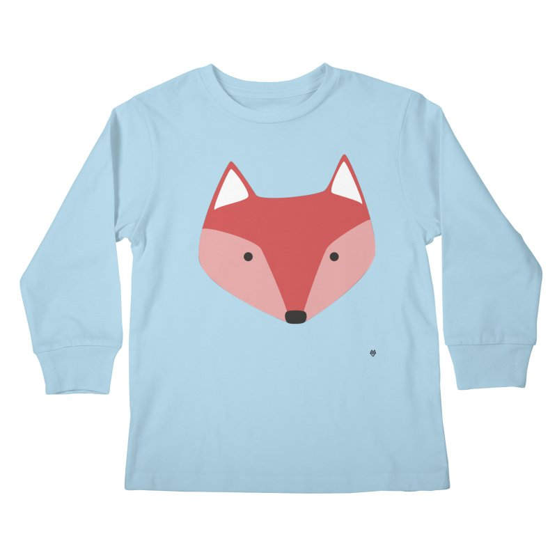 Fox Kids Longsleeve T-Shirt by Sin Remite Artist Shop
