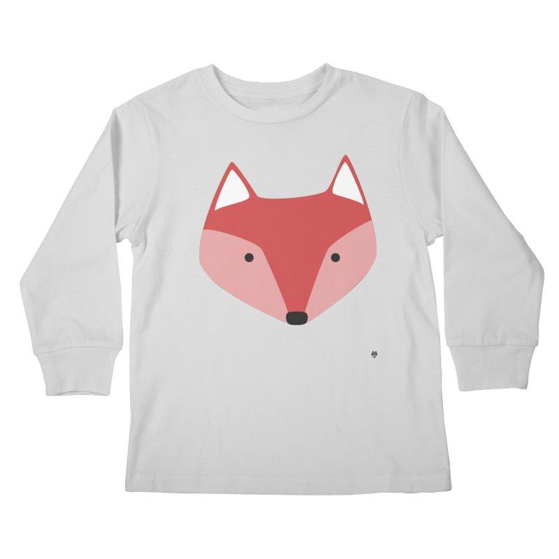 Fox Kids Longsleeve T-Shirt by Sin Remite Artist Shop