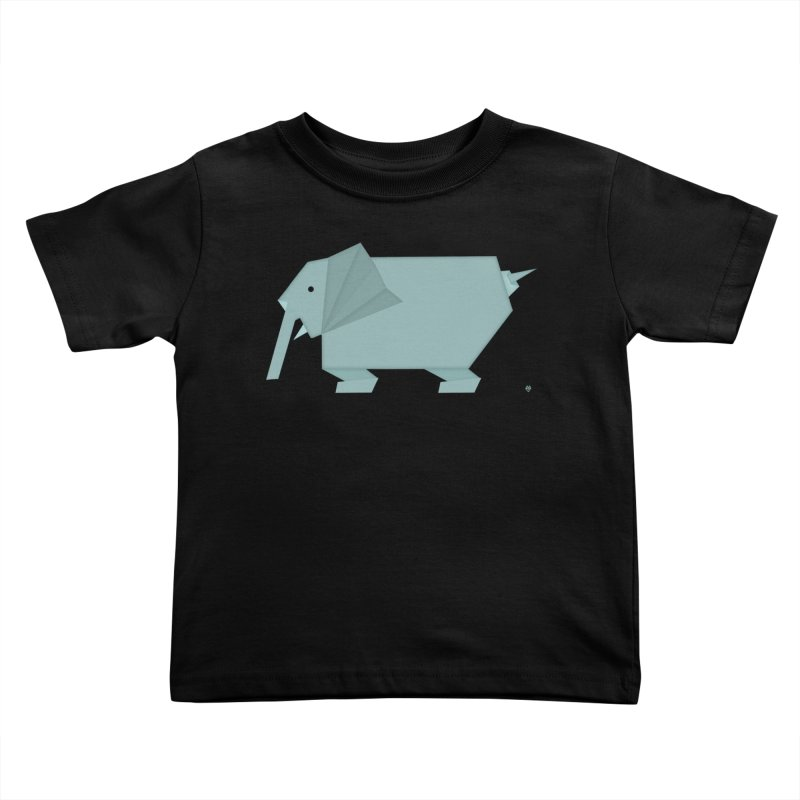 elephant Kids Toddler T-Shirt by Sin Remite Artist Shop