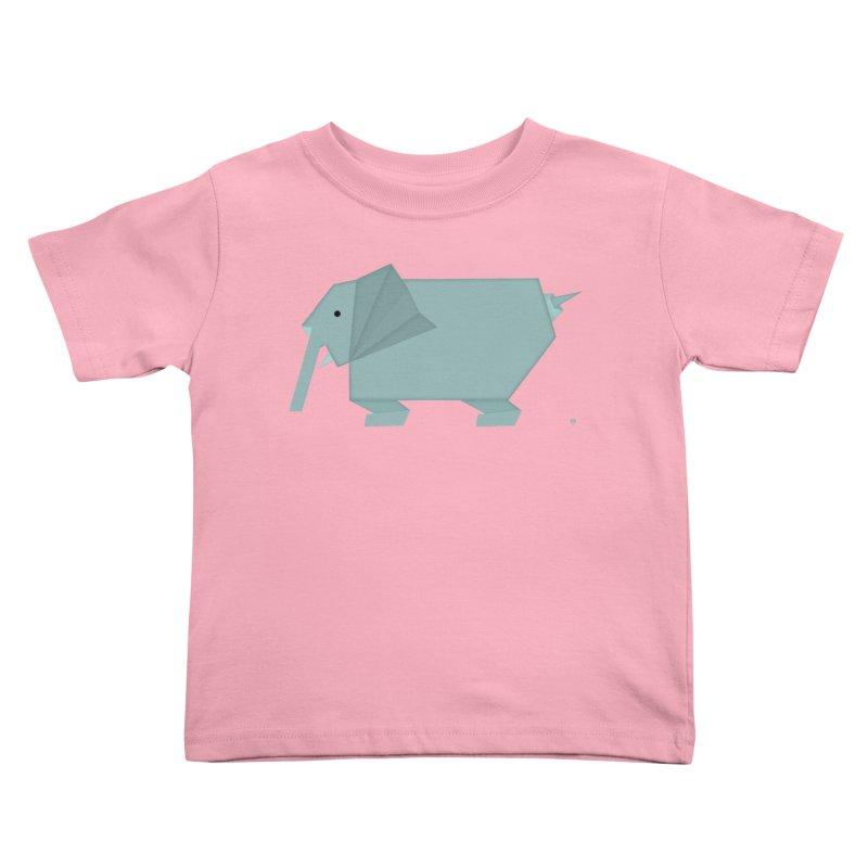 elephant Kids Toddler T-Shirt by Sin Remite Artist Shop