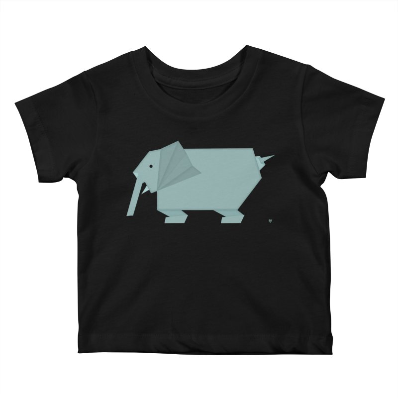 elephant Kids Baby T-Shirt by Sin Remite Artist Shop
