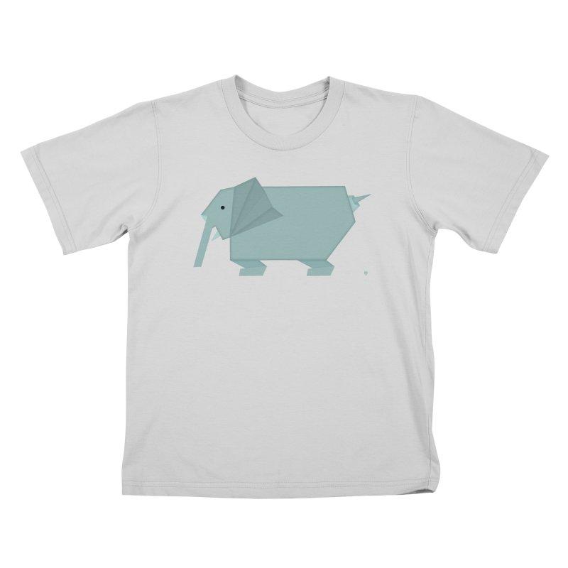 elephant Kids T-Shirt by Sin Remite Artist Shop