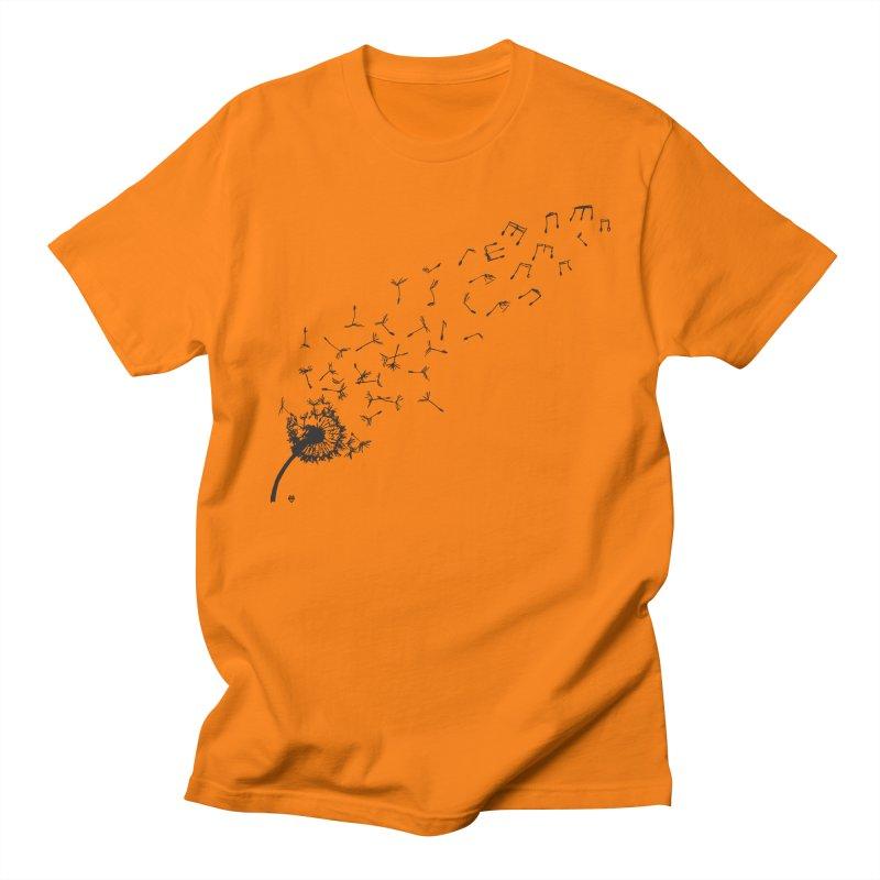 listen to the nature Men's Regular T-Shirt by Sin Remite Artist Shop