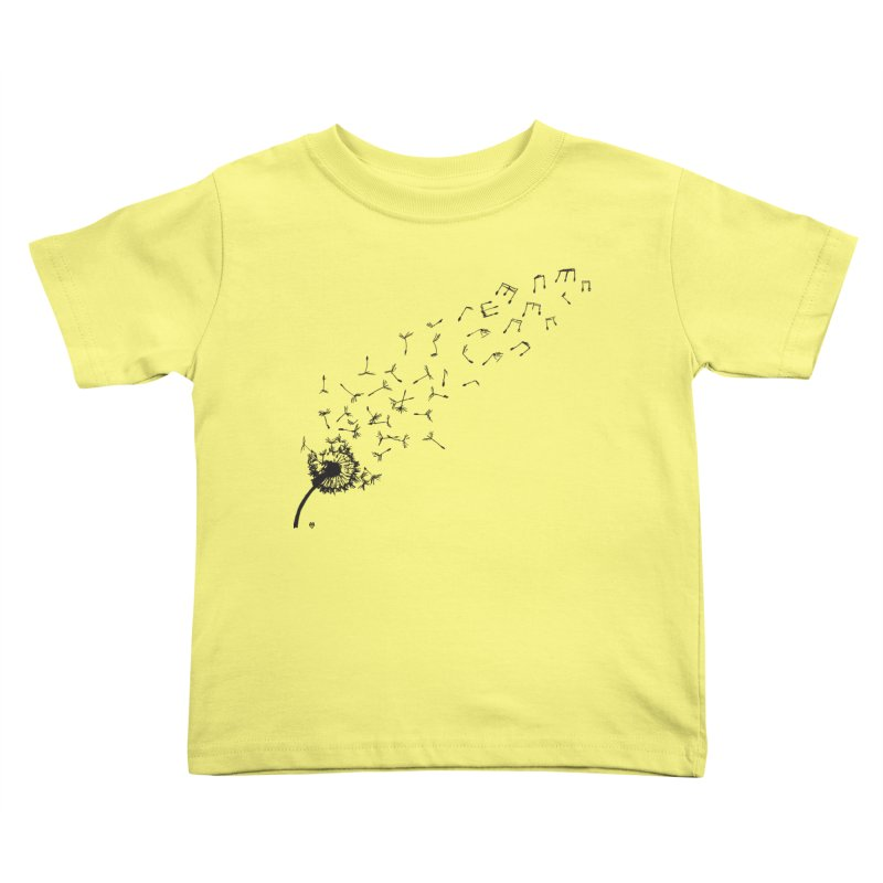 listen to the nature Kids Toddler T-Shirt by Sin Remite Artist Shop