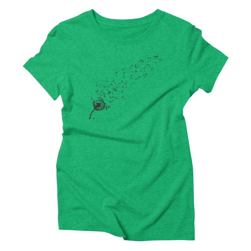 listen to the nature Women's Triblend T-Shirt by Sin Remite Artist Shop