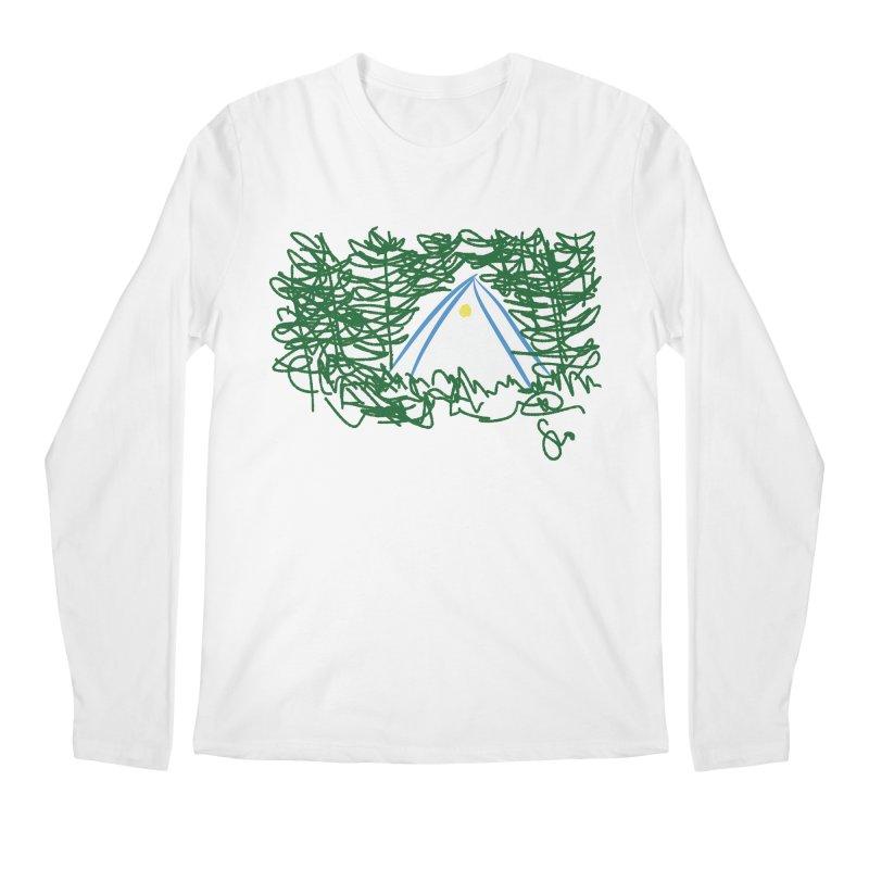 Night Light Men's Longsleeve T-Shirt by Siobhan Donoghue's Artist Shop