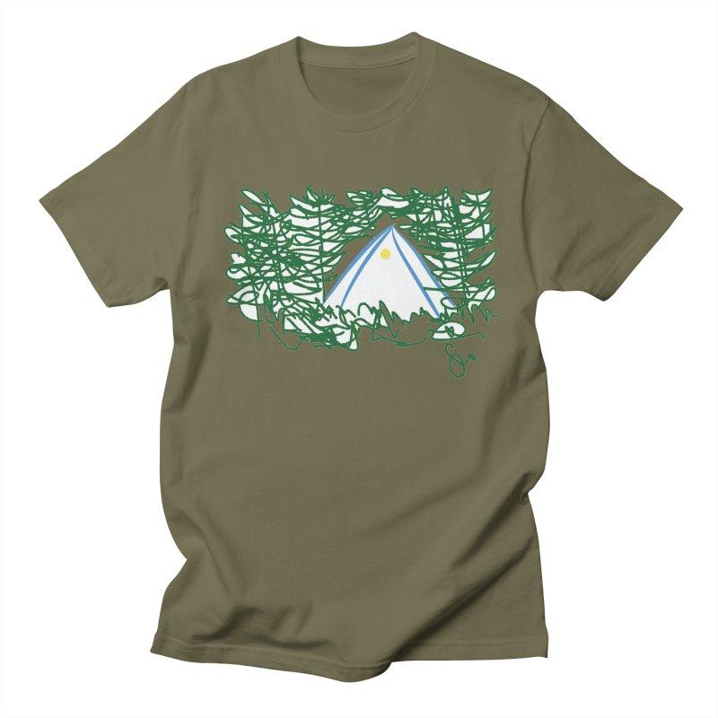 Night Light Men's T-shirt by Siobhan Donoghue's Artist Shop