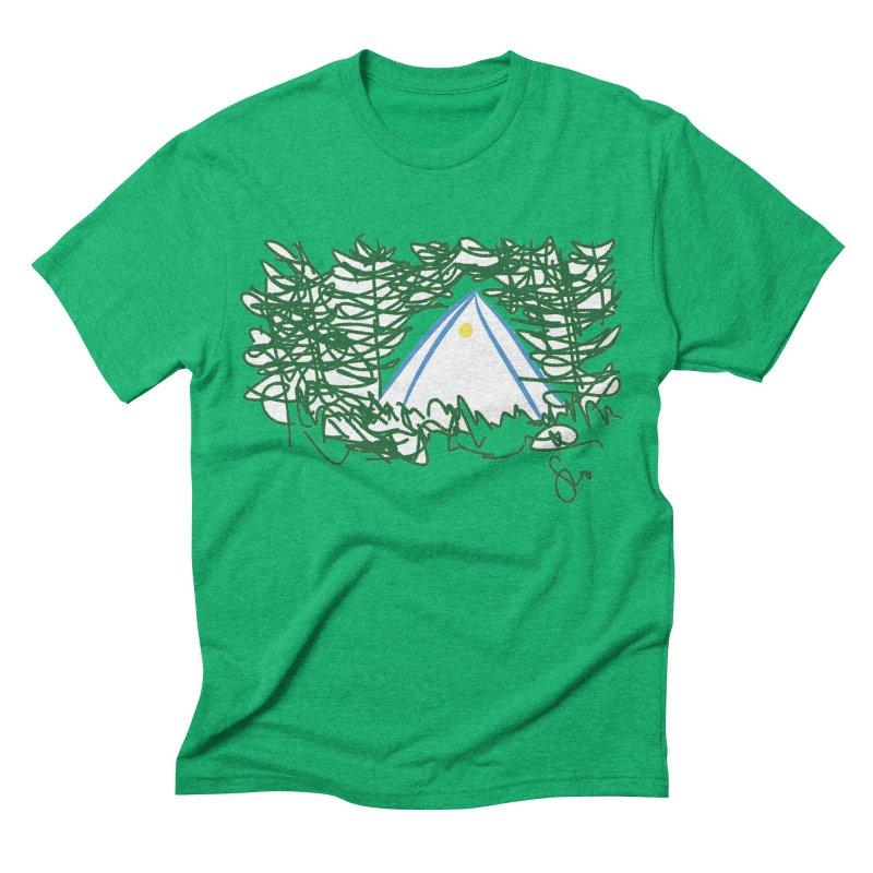 Night Light Men's Triblend T-shirt by Siobhan Donoghue's Artist Shop
