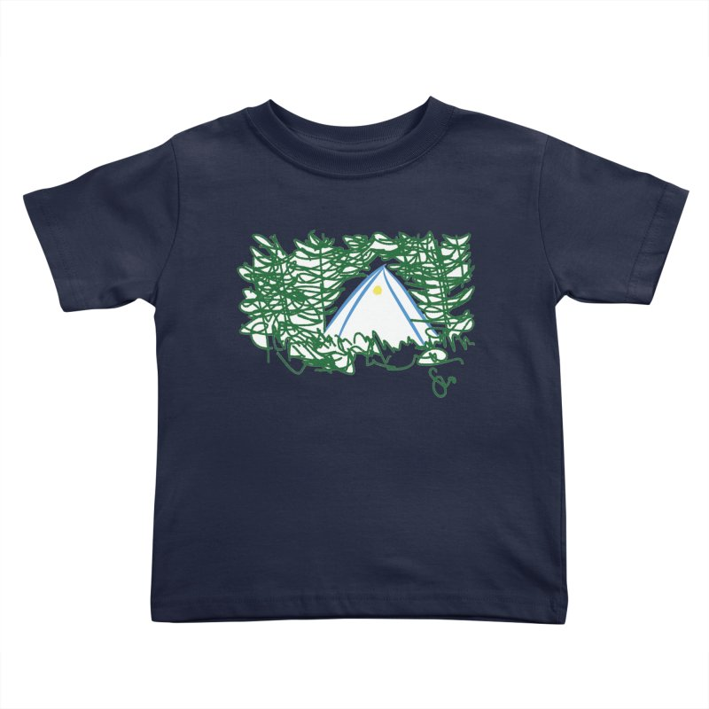 Night Light Kids Toddler T-Shirt by Siobhan Donoghue's Artist Shop