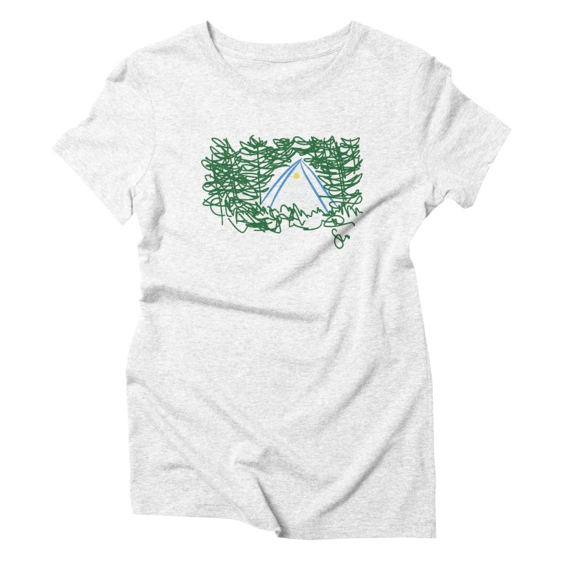 Night Light Women's Triblend T-shirt by Siobhan Donoghue's Artist Shop