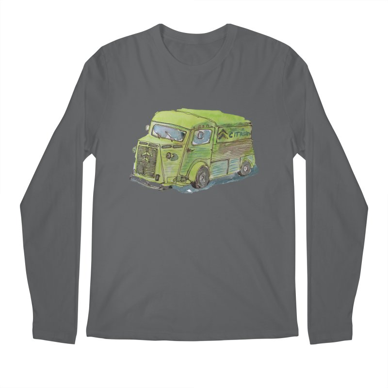 My imaginary food truck Men's Longsleeve T-Shirt by Siobhan Donoghue's Artist Shop