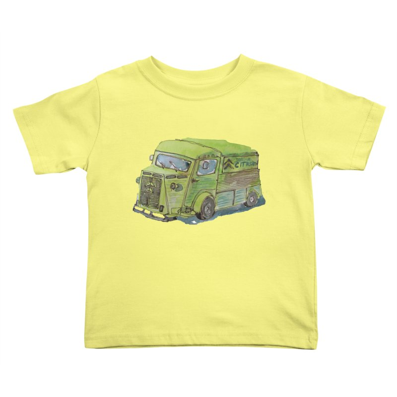My imaginary food truck Kids Toddler T-Shirt by Siobhan Donoghue's Artist Shop