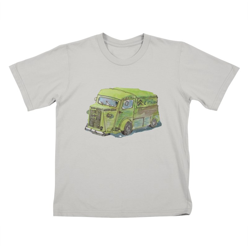 My imaginary food truck Kids T-shirt by Siobhan Donoghue's Artist Shop