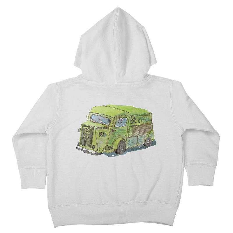 My imaginary food truck Kids Toddler Zip-Up Hoody by Siobhan Donoghue's Artist Shop