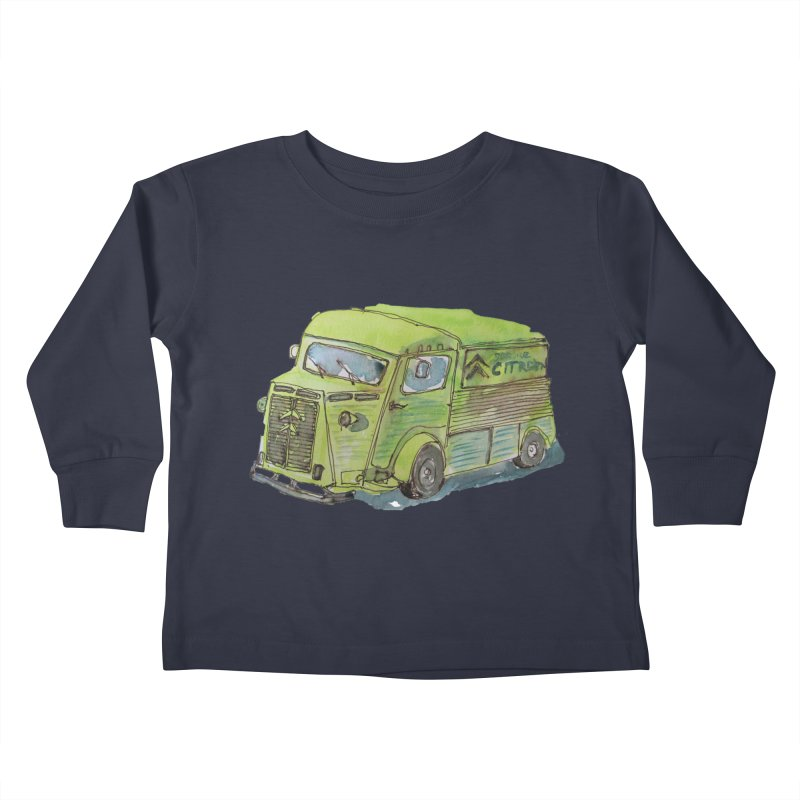 My imaginary food truck Kids Toddler Longsleeve T-Shirt by Siobhan Donoghue's Artist Shop