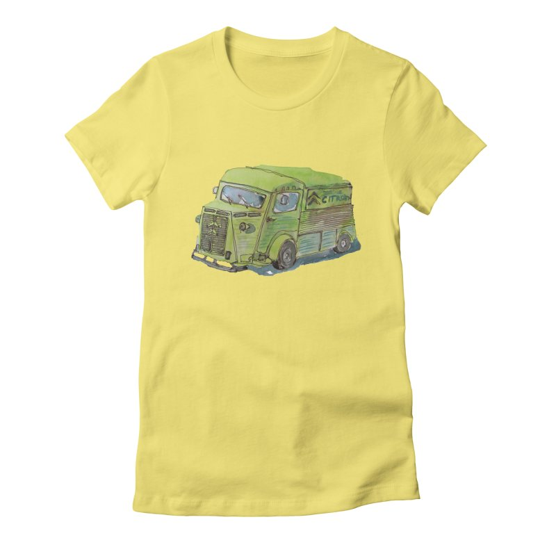 My imaginary food truck Women's Fitted T-Shirt by Siobhan Donoghue's Artist Shop