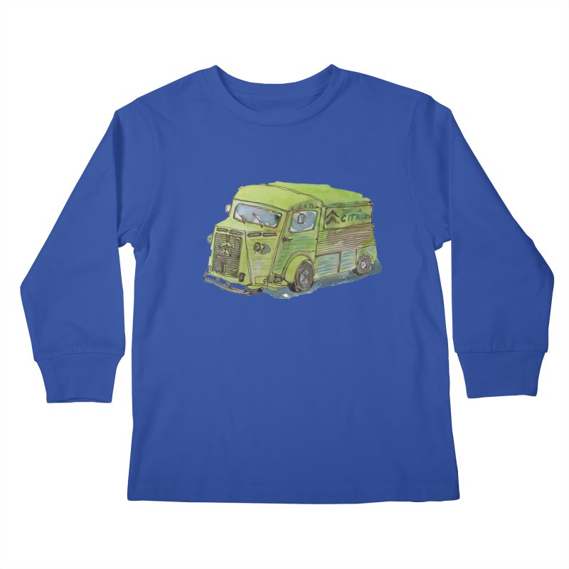 My imaginary food truck Kids Longsleeve T-Shirt by Siobhan Donoghue's Artist Shop