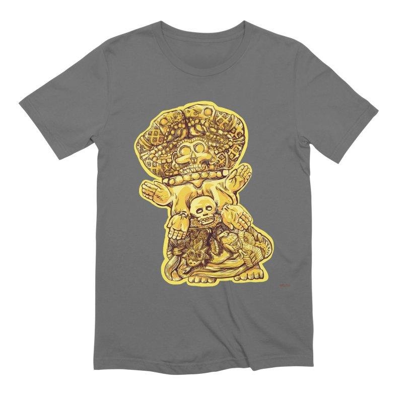 Coatlicue Men's T-Shirt by Ƨ I Я A K Λ