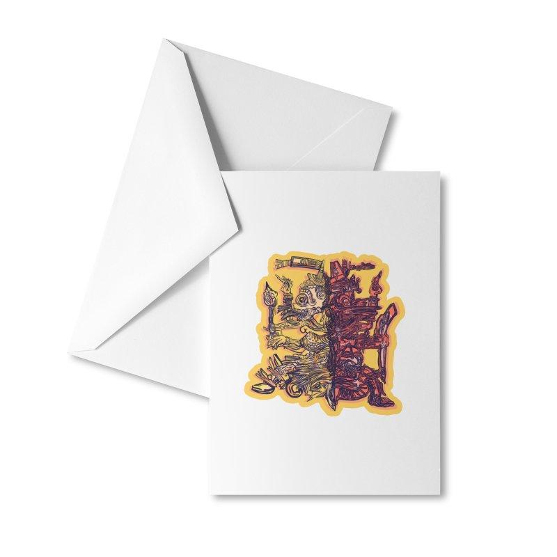 Ometeotl Accessories Greeting Card by Ƨ I Я A K Λ