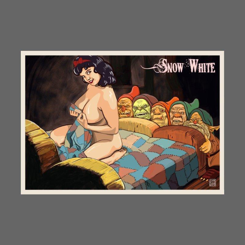 Blanche Fesses et les sept gnomes by sireyorick's Artist Shop