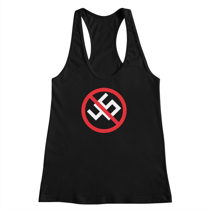 45 (white) Women's Racerback Tank by Sir Mitchell's Shop