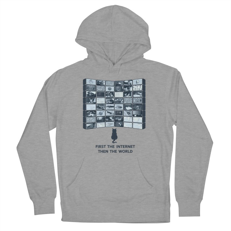 Cats rule the world Women's Pullover Hoody by siso's Shop