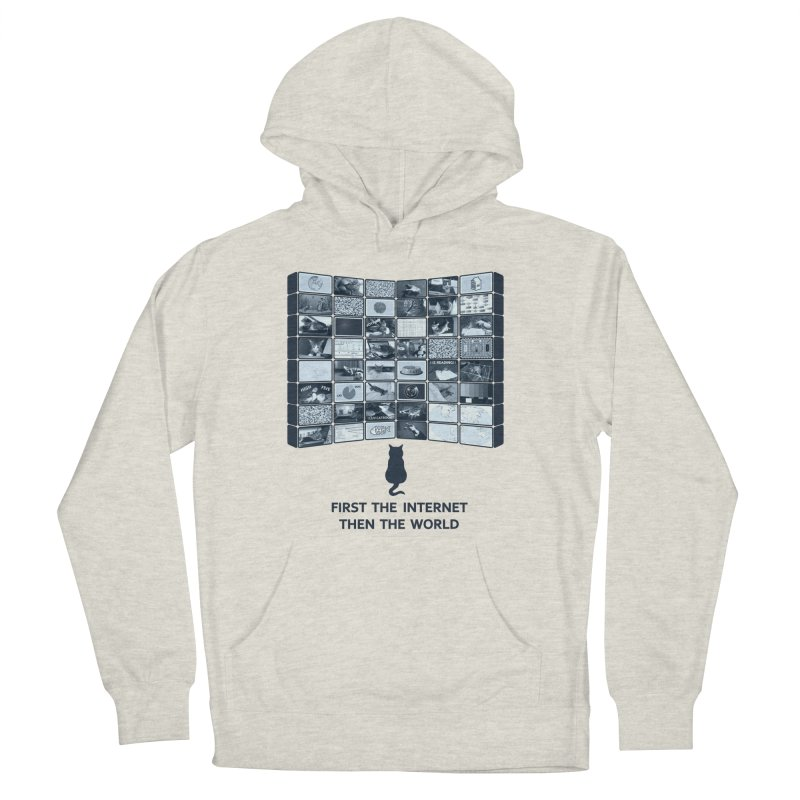 Cats rule the world Men's Pullover Hoody by siso's Shop