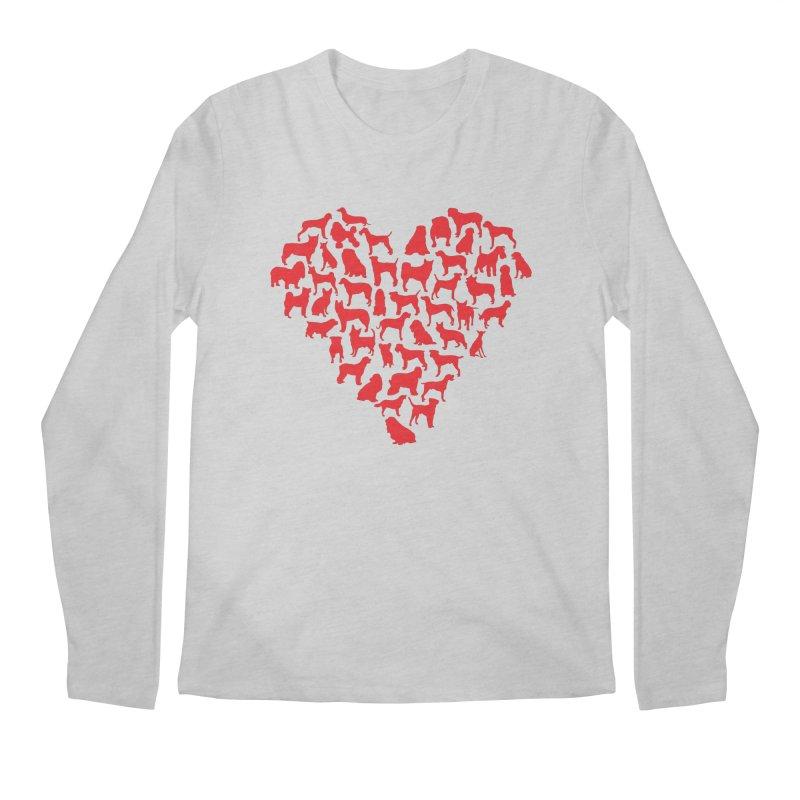 Must love dogs Men's Longsleeve T-Shirt by siso's Shop